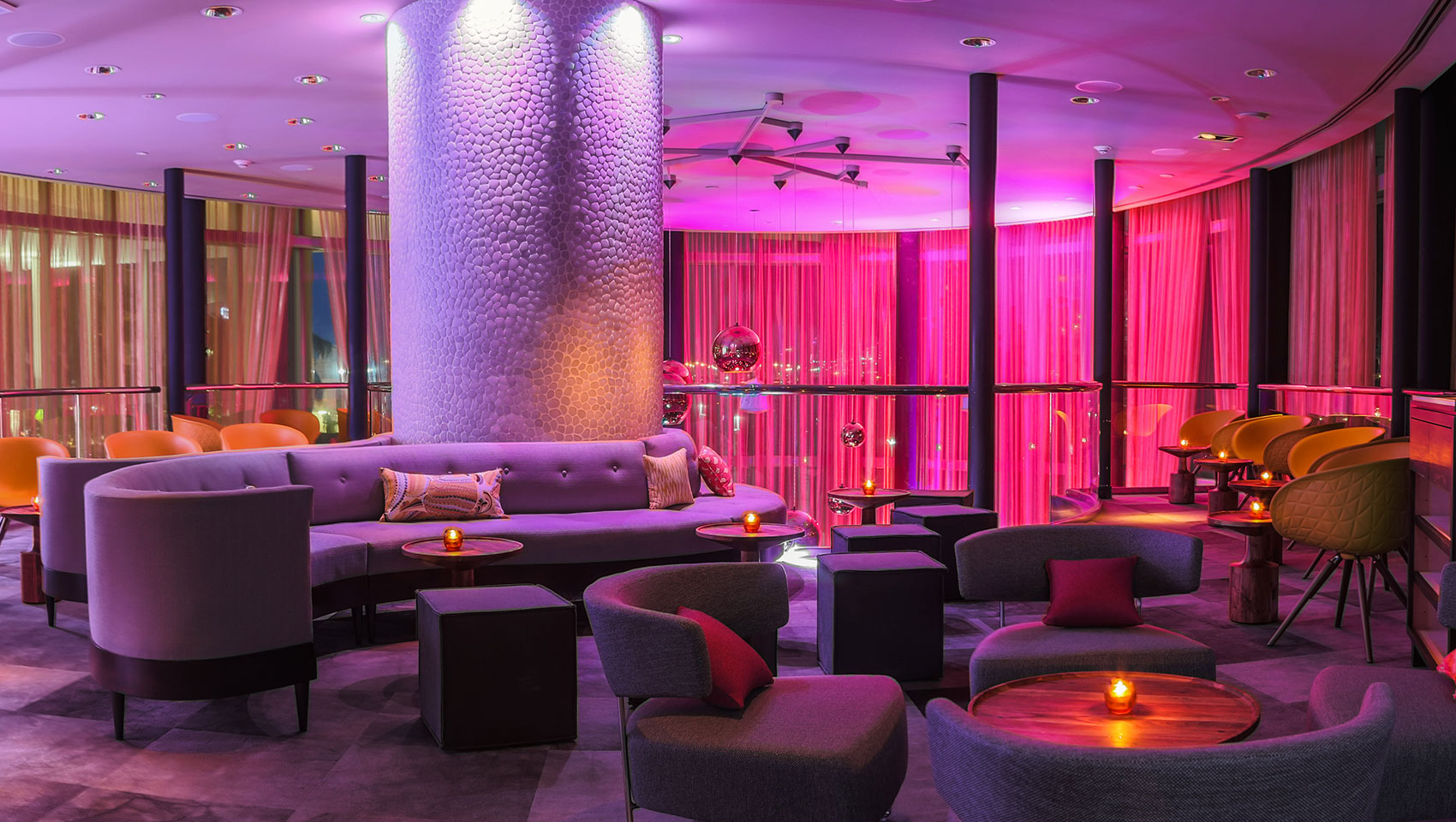 Lilt Lounge Downtown Miami Bars Kimpton Epic Hotel