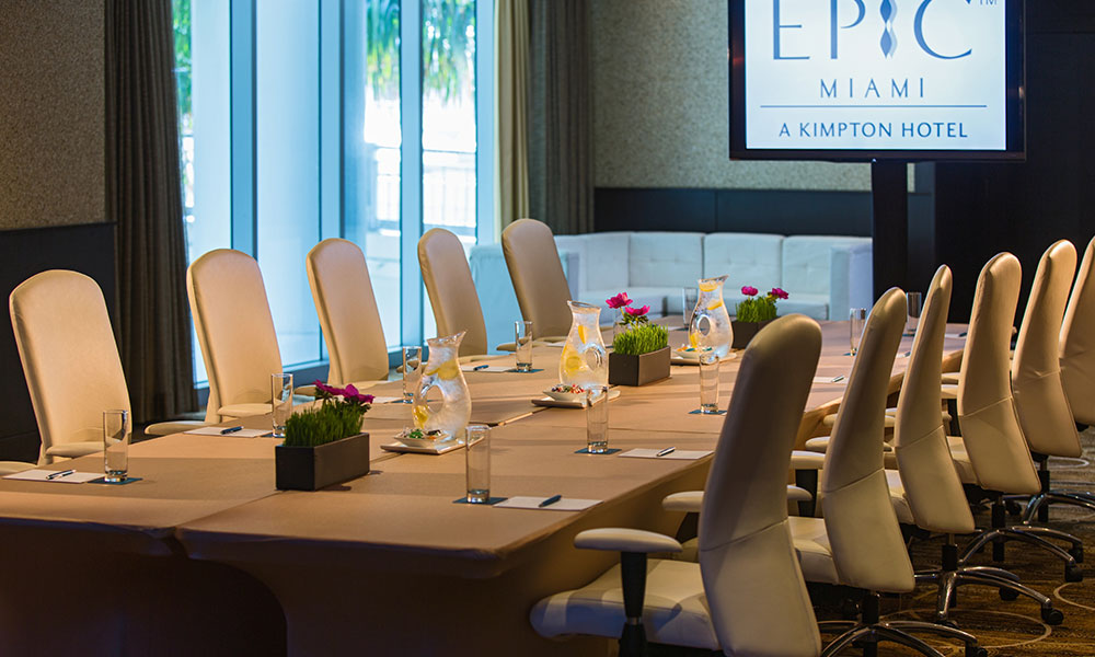 Event Space Floor Plans Kimpton Epic Hotel In Downtown Miami
